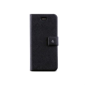 PURO Booklet Slim Case [Black], Futerał dla iPhone 5