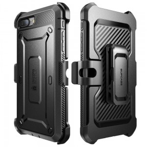 "Supcase Unicorn Beetle PRO [czarne], Pancerne etui na iPhone 7+/8 Plus (5.5"")"