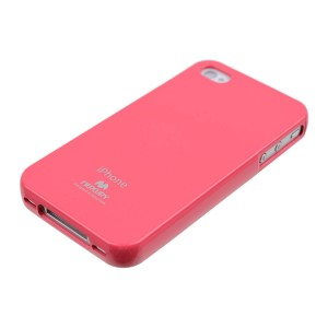 Mercury/Goospery Jelly Case [Hot Pink], Elastyczne etui dla iPhone 4/4S
