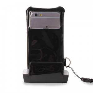 "PURO Waterproof Case [czarne], Nieprzemakalne etui na iPhone (do 5.1"")"