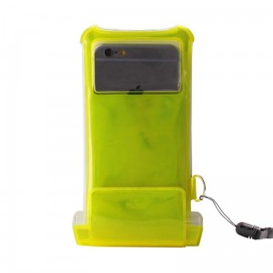 "PURO Waterproof Case [żółte], Nieprzemakalne etui na iPhone (do 5.1"")"