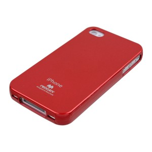 Mercury/Goospery Jelly Case [Red], Elastyczne etui dla iPhone 4/4S