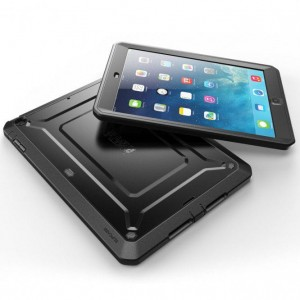 Supcase Beetle Defense [czarne], Pancerne etui na iPad Air