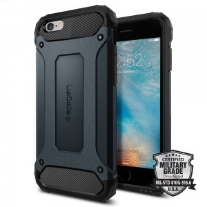 "Spigen Tough Armor Tech [granatowe], Pancerne etui dla iPhone 6 (4.7"")"