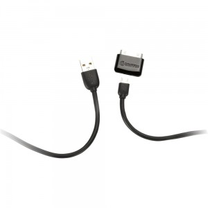 Griffin Charge+Sync Cable Kit, Kabel microUSB + końcówka Apple 30-pin