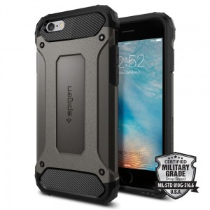 "Spigen Tough Armor Tech [stalowe], Pancerne etui dla iPhone 6 (4.7"")"