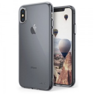 "Ringke Air Case [dymione], Cienkie silikonowe etui do iPhone X (5.8"")"