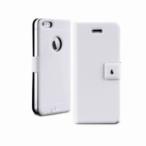 PURO Booklet Slim Case [White], Futerał dla iPhone 5