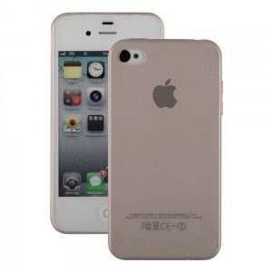 UltraThin 0.3mm TPU Case [dymione], Elastyczne etui na iPhone 4/4S