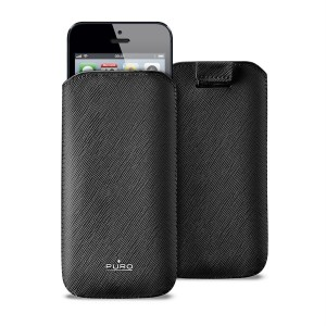 PURO Essential Slim Case [Black], Futerał do iPhone 5
