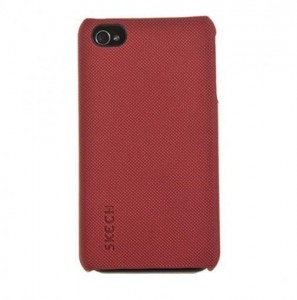 Skech Custom Jacket [Red], Etui do iPhone 4/4S