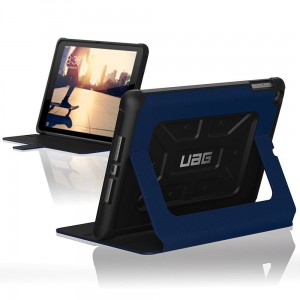 "Urban Armor Gear Folio [niebieskie], Pancerne etui do iPad 9.7"" 2017"
