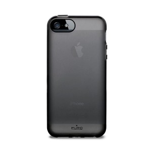 PURO Plasma Cover [Black], Etui dla iPhone 5/5S