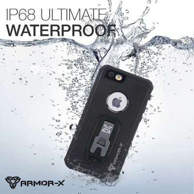 armor-x waterproof case