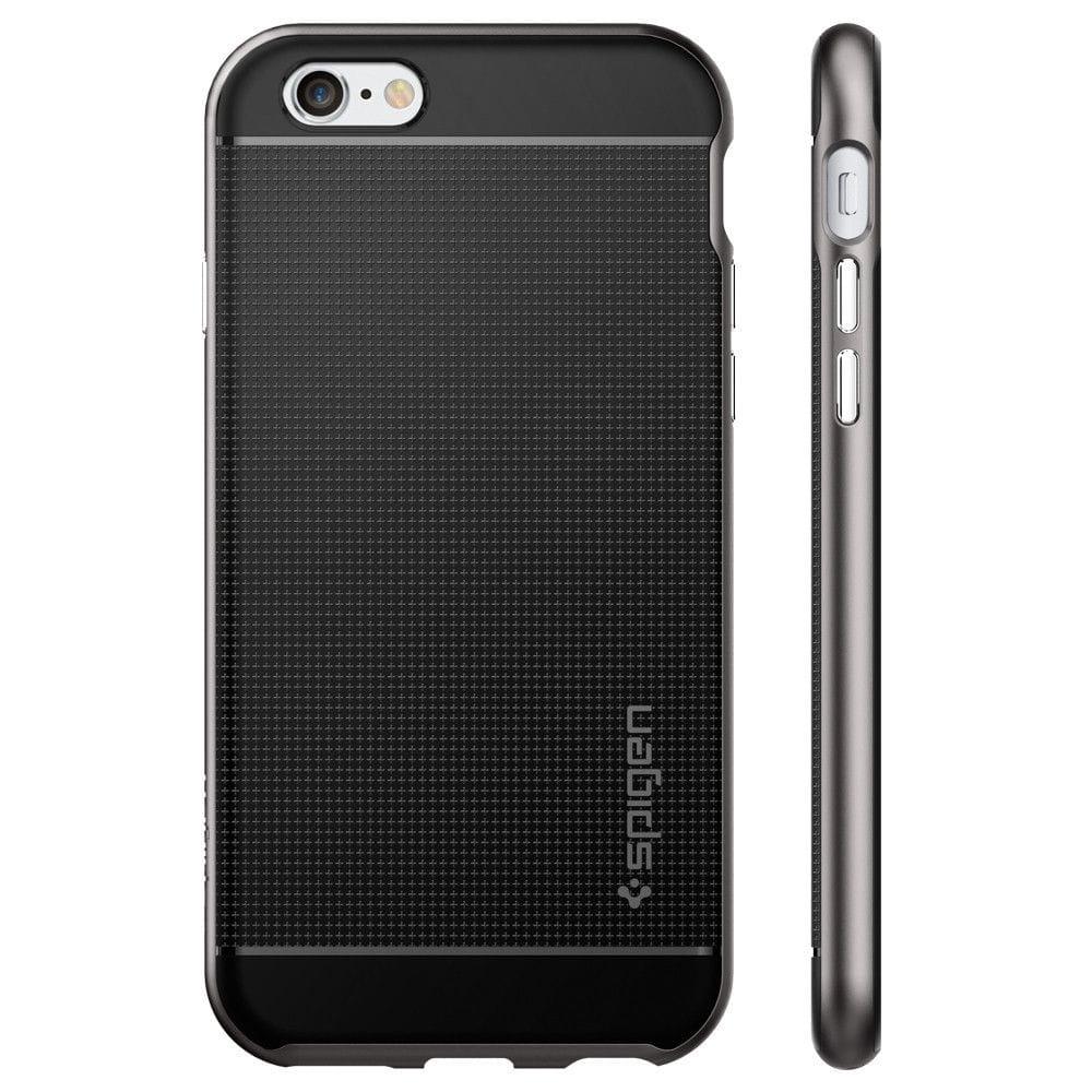 spigen neo hybrid iphone 6 6s 4 7 gunmetal. Black Bedroom Furniture Sets. Home Design Ideas