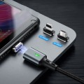 Elough E05 Lightning Magnetic Cable 100CM 3A [czarny]