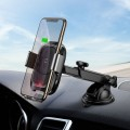 BASEUS VEHICLE DASH CAR MOUNT WIRELESS CHARGER BLACK