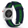 PASEK TECH-PROTECT WELLING APPLE WATCH 1-2-3-4 (42-44MM) NAVY-GREEN 1.jpg
