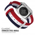 PASEK TECH-PROTECT WELLING APPLE WATCH 1-2-3-4 (38-40MM) NAVY-RED 2.jpg