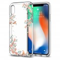 Spigen Liquid Crystal Blossom / iPhone X