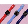 Pasek do Apple Watch 1/2/3/4/5/6/SE (42/44 mm) Puro Icon [ciemno zielony]
