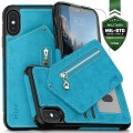 ZIZO NEBULA WALLET CASE - SKÓRZANE ETUI IPHONE X-XS (BABY BLUE-BLACK) 1.jpg