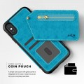 ZIZO NEBULA WALLET CASE - SKÓRZANE ETUI IPHONE X-XS (BABY BLUE-BLACK) 7.jpg