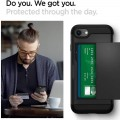 Etui do iPhone 7-8-SE 2020 Spigen Slim Armor CS czarny