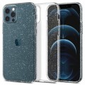 Etui do iPhone 12 Pro Max Spigen Liquid Crystal [bezbarwne-brokatowe]