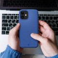 Etui do iPhone 12 Mini Spigen Cyrill Silicone [niebieski]