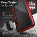 Etui do iPhone 12 Pro Max X-Doria Raptic Shield [czerwony]