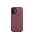 Etui do iPhone 12 Mini UAG Anchor Aubergine [bordowy]