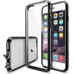 "Etui do iPhone 6/6S (4.7"") Ringke Fusion Case [czarne],"