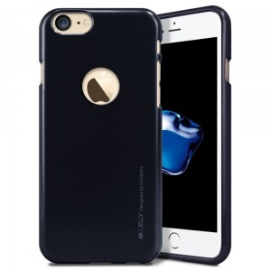 "Mercury/Goospery iJELLY Metal Case [czarne], Etui na iPhone 7/8 (4.7"")"
