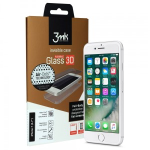 "3MK Flexible Glass 3D [Matte-Coat], Folia ceramiczna na iPhone 7 (4.7"")"