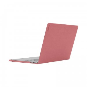 Etui do MacBook Pro 13 (2019/2018/2017/2016) Incase Textured Hardshell in NanoSuede [ciemno różowy]