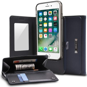 "Ringke Wallet [granatowe], Etui-portfel do iPhone 7/8 (4.7"")"