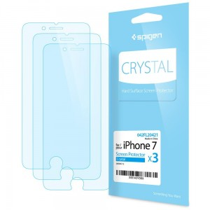 "Folia Ochronna Spigen Crystal Screen Protector [3szt) iPhone 7/8 (4.7"")"