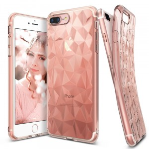 "Etui do iPhone 7/8 (4.7"") Ringke Air PRISM [różowe]"