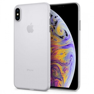 "Etui do iPhone XS MAX (6.5"") Spigen Airskin [soft clear]"