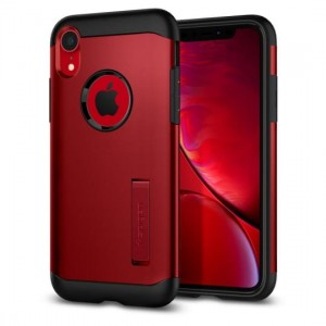 Etui do iPhone XR Slim Armor [czerwony]