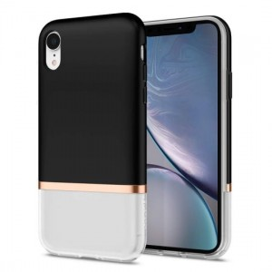 "Etui do iPhone XS MAX (6.5"") Spigen La Manon Jupe [czarne]"