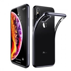 "Esr Essential , Etui do iPhone XS MAX (6,5"")  [czarna ramka]"