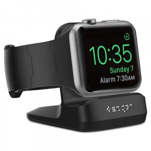 SPIGEN S350 NIGHT STAND APPLE WATCH 1/2/3/4 BLACK