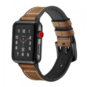 Pasek do Apple Watch 1/2/3/4/5 (42/44 mm) Tech-Protect Osoband [brązowy]