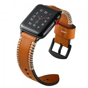 Pasek do Apple Watch 1/2/3/4/5 (42/44 mm) Tech-Protect Stroband [brązowy]
