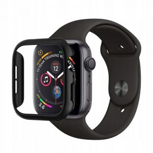 Etui ochronne do Apple Watch 4/5/6/SE (40mm) Spigen Thin Fit [czarne]