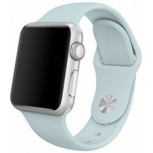Pasek do Apple Watch 1/2/3/4 (38/40 mm) Tech-Protect  [turkusowy]