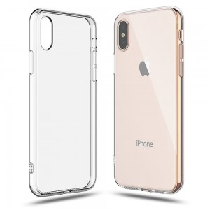 "Etui do iPhone X/XS (5.8"") Tech-Protect Flexair  [przezroczyste]"