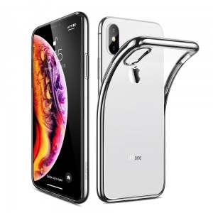 "Etui do iPhone XS MAX (6.5"") Esr Essential [srebna ramka]"
